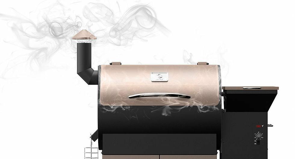 Z Grills Master Wood Grill Smoke Digital OutDoors