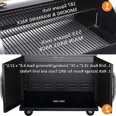Z GRILLS Grill Smoker Style Camp Chef Pro w/Digital Control
