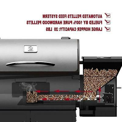 Z GRILLS Wood Pellet Grill Camp Chef Pro