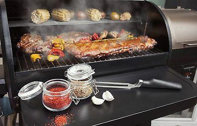 Z GRILLS Wood Pellet Grill and Camp Meat w/Digital