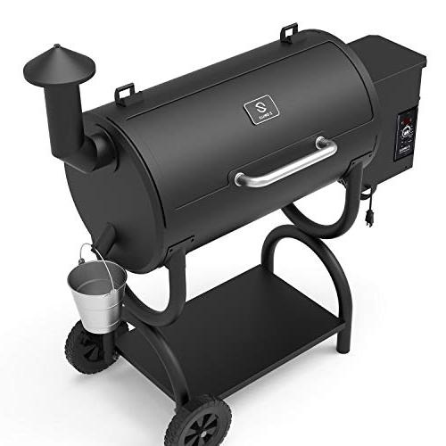 ZGRILLS Wood Pellet Grill Smoker Outdoor and Square