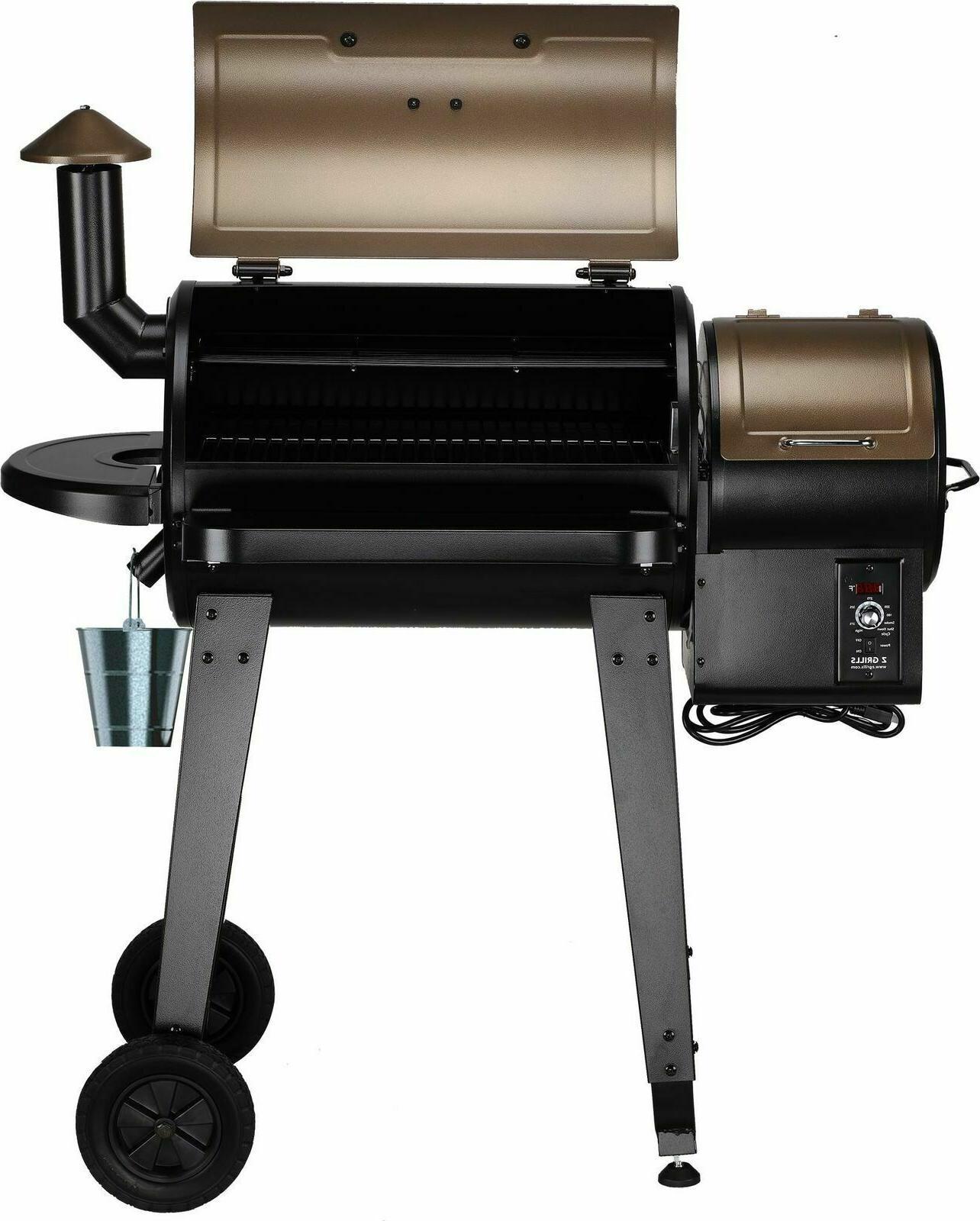 Z GRILLS Wood Pellet Grill Control