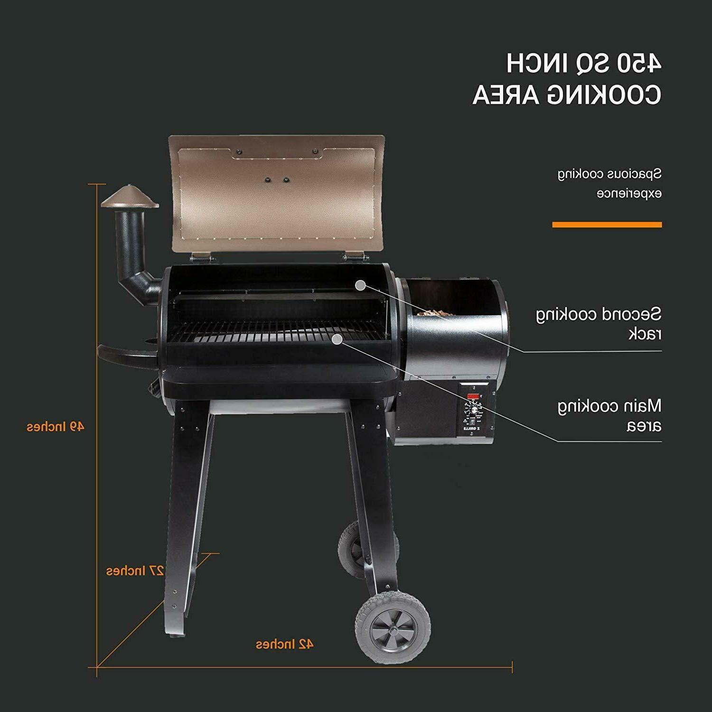 Z GRILLS Wood Grill BBQ Control