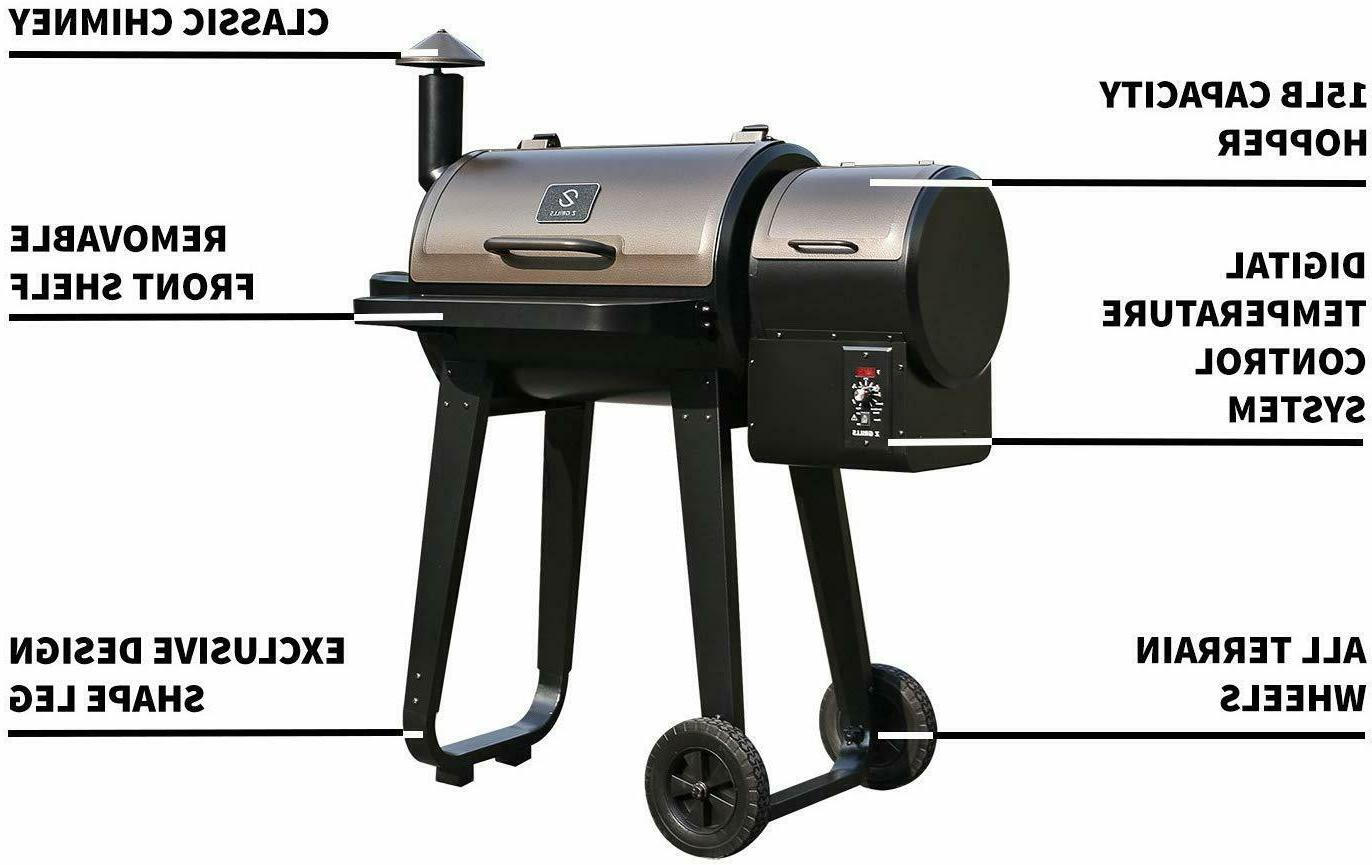 Z GRILLS Wood Pellet Control with