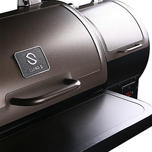 Z ZPG-450A 7 in 1 BBQ Grill Auto sq. Bronze/Black