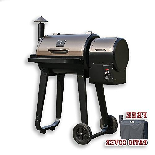 zpg 450a wood pellet barbecue