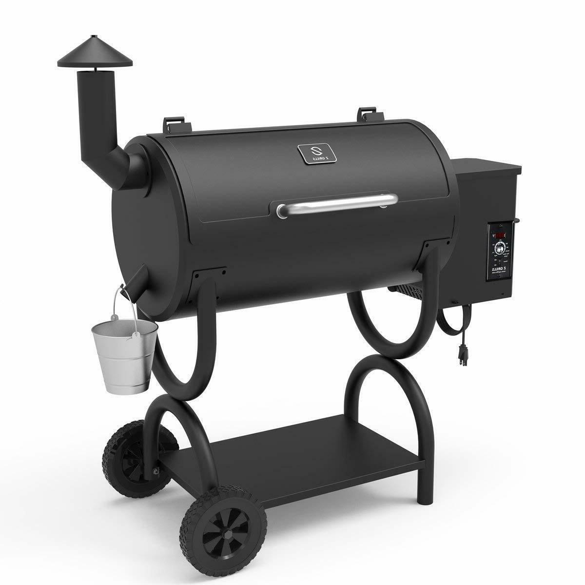 Z Pellet Grill Digital Controls