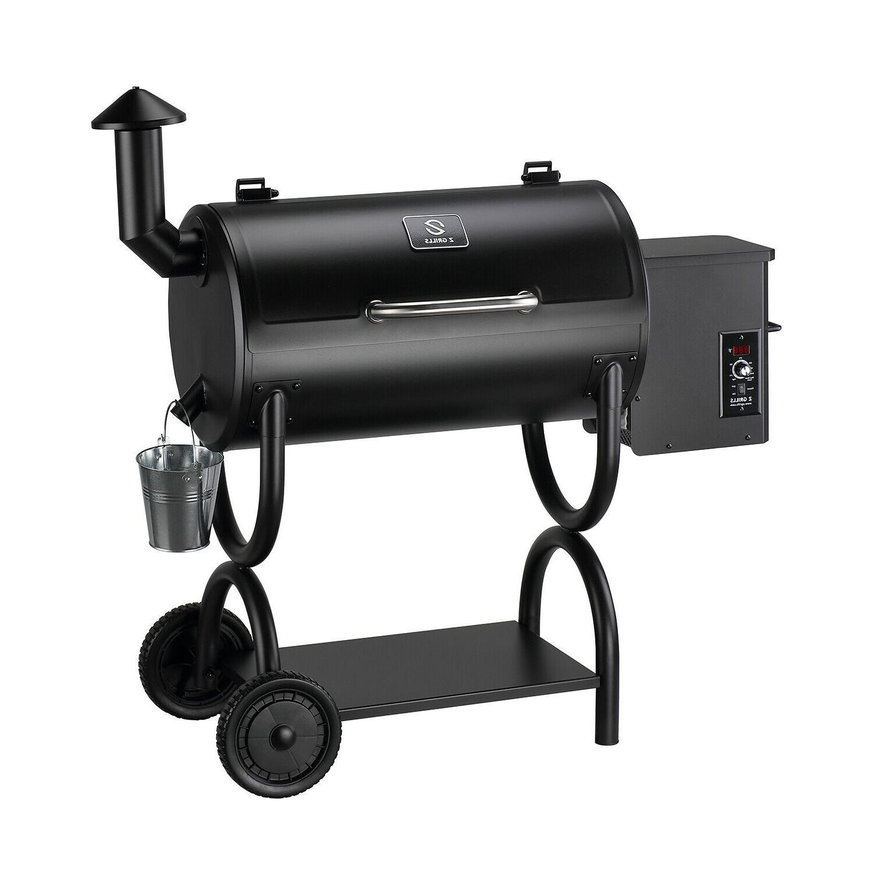 zpg 550b wood pellet grill bbq smoker