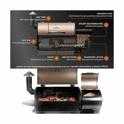 Z Grills ZPG-7002B Wood Pellet BBQ Temperature Control