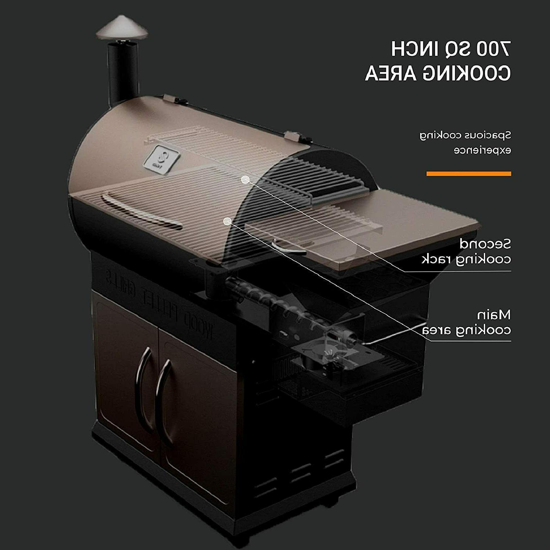 Z GRILLS ZPG-700D 2020 Upgrade Wood Pellet Grill