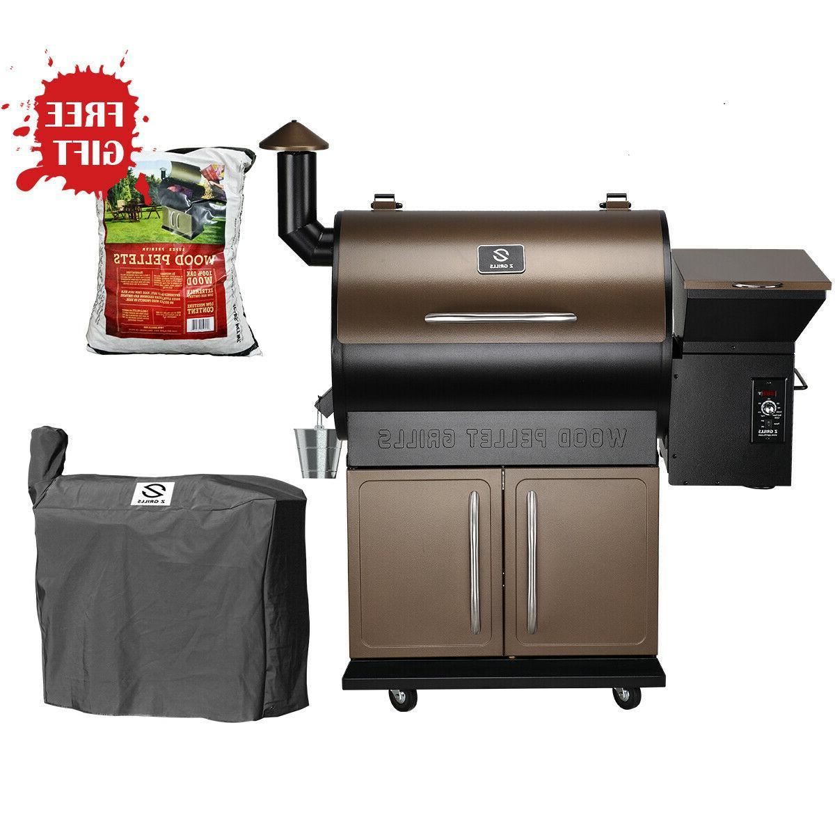zpg 700d wood pellet grill bbq smoker
