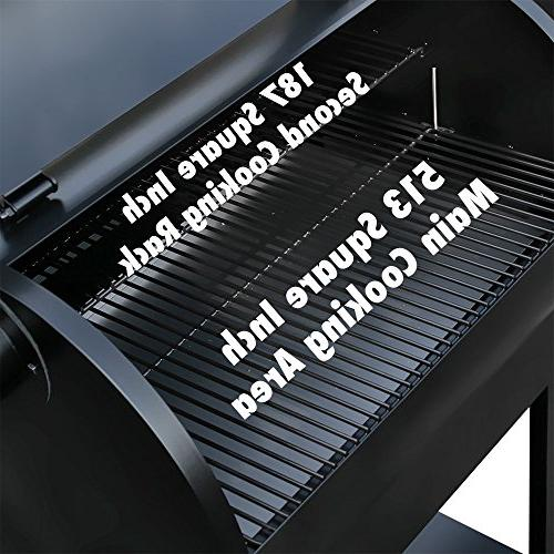 Z ZPG-7002B Pellet Barbecue Grill and Smoker wth Control, Perfect Size Backyard BBQ Grill