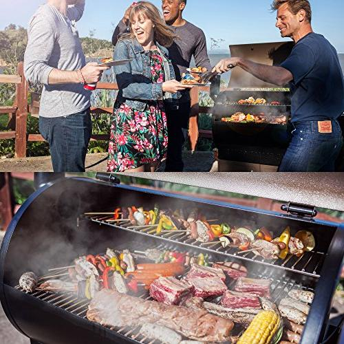 Z GRILLS New 2019 Upgrade Wood Pellet Grill 8 in 1 BBQ Grill 700 Area Included