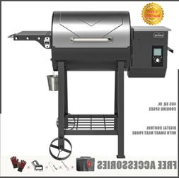 ASMOKE MAX. 500℉ Wood Pellet Grill 8 In 1 BBQ Smoker 465 s