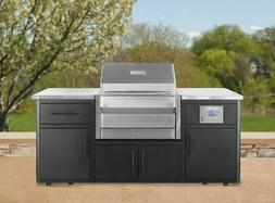 Memphis Outdoor Kitchen with Pro Built-In Wood Pellet Grill