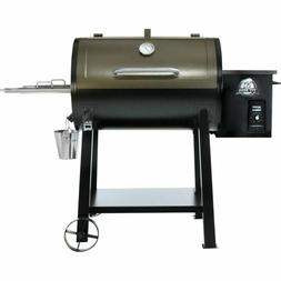 NEW Pit Boss 440D DELUXE PATIO Wood Fired Pellet Grill w/ Fl