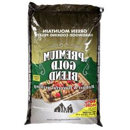 New Green Mountain Grills Premium Hardwood Gold Pellets