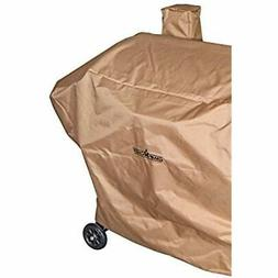Nylon 36&quot Heavy Duty Pellet Grill Patio Cover, Tan Garde