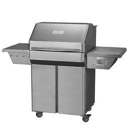 Memphis Grills Pro 28-inch Pellet Grill On Cart - Vg0001s4
