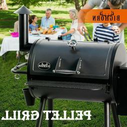 2019 BIG HORN Pellet Grill Wood BBQ Grill Smoker Auto Temper