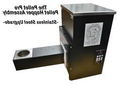 "Pellet Pro® S/S 18"" Pellet Grill Hopper Assembly PID Contro"