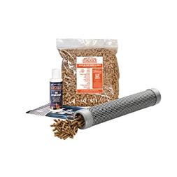"A-MAZE-N Pellet Smoker 12"" Tube with 2 lbs Pitmasters Choice"