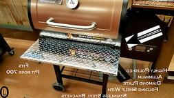 Pit Boss  Classic Pellet Grill Aluminum Diamond Plate Foldin