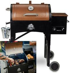 portable pellet grill with folding legs 340