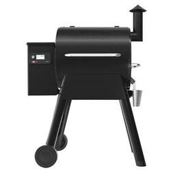 Traeger Pro 575 Smart Pellet Grill Smoker in Black Wifi Tech