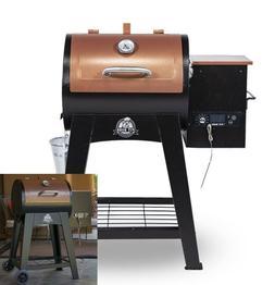 Smoker Grill Wood Pellet Flame Broiler Meat Probe Large Cook