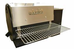 22x12 Stainless Folding Front Shelf for Pellet Grill,Traeger