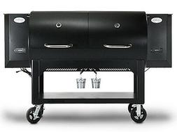 LOUISIANA GRILLS SUPER HOG Barrel Wood Pellet Smoker BBQ Gri