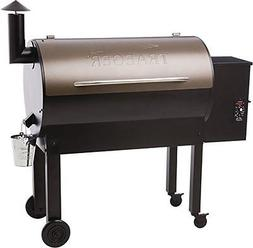 Traeger Texas Elite 34 Series Wood Pellet Grill Black and Br
