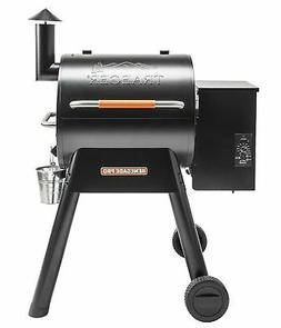 Traeger TFB38TOD Renegade Pro Wood Pellet Grill, Black/Orang