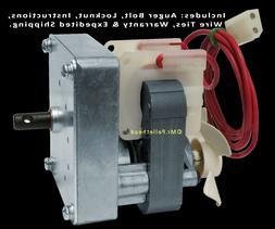 Traeger Auger Motor Upgrade  for Wood Pellet Smoker Grill KI