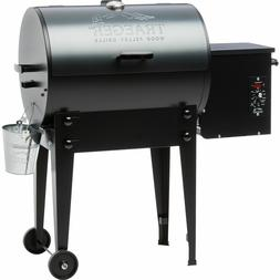 traeger blue tailgater wood pellet grill tfb30lub
