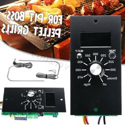 Upgrade Digital Thermostat Control Board+2 Meat Probes For P