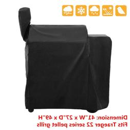 Waterproof Wood Pellet BBQ Grill Cover for Traeger 22 Series