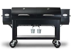 LOUISIANA GRILLS WHOLE HOG Barrel Wood Pellet Smoker BBQ Gri