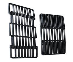 "soldbbq 8"" Width Adjustable Porcelain Cast Iron Grid Section"