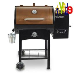 Wood Fired Pellet Grill w/ Flame Broiler Classic Digital Con