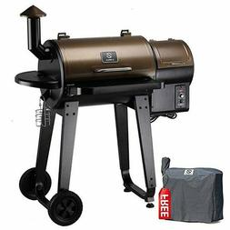 Z Grills Wood Pellet Barbecue Grill And Smoker with Digital