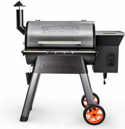 TACKLIFE Wood Pellet Grill and Smoker,8-in-1 BBQ Grill, 700