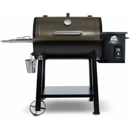 Wood Pellet Grill BBQ Pit Boss 440 Deluxe Camping Smoke Cook