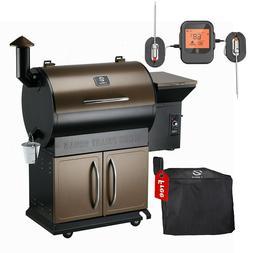 Z GRILLS Wood Pellet Grill BBQ Smoker Digital Control ZPG-70