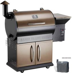 Z Grills Wood Pellet Grills 700 Cooking Area 8- in-1 Grill,