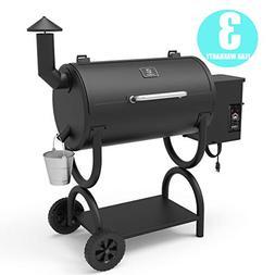 Z GRILLS Wood Pellet Smoker 2018 Model ZPG-550B Ourdoor BBQ