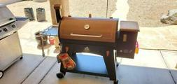XL 1000 Sq In Pit Boss Pellet Grill Flame Broiler and Cookin