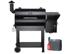 Z Grill Pellet Grill Pro 7002 Wood Smoker Outdoor Cooking Ba