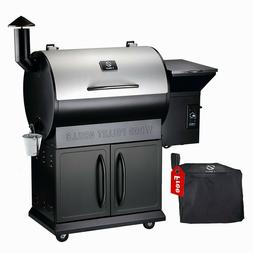 Z GRILLS Wood Pellet Grill and Smoker Outdoor with Auto Temp